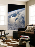 High-Oblique View of the Gaspe Peninsula and Anticosti Island Wall Mural by  Stocktrek Images