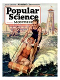 Front Cover of Popular Science Magazine: January 1, 1920 Posters