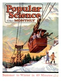 Front Cover of Popular Science Magazine: January 1, 1920 Arte