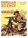 Front Cover of Popular Science Magazine: October 1, 1930 Julisteet