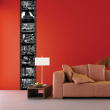 New York Black and White Wall Decal
