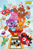 Moshi Monsters-Roller Coaster Poster