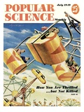 Front cover of Popular Science Magazine: July 1, 1949 Affischer