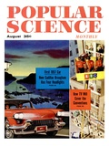Front Cover of Popular Science Magazine: August 1, 1950 Affiches