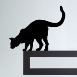Katze I Wandtattoo