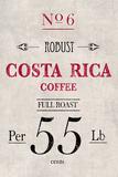 Costa Rican Coffee Láminas