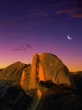 Half Dome at Twilight Photographic Print by Bill Ross