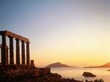 Ruin of the Poseidon temple in Attica (Greece) Photographic Print by José Fuste Raga