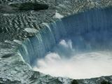 Water Rushing over Horseshoe Falls Photographic Print by Ron Watts