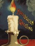 Hallowe'en Greeting Photographic Print by Ellen H. Clapsaddle