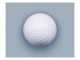 Golf ball Lámina giclée por Matthias Kulka