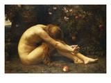 Eve in the Garden of Eden Lámina giclée por Anna Lea Merritt