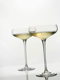 Two Glasses of Wine Photographic Print by Andrew Brookes