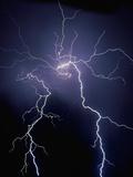 Lightning at Night Fotografisk trykk av Jim Zuckerman