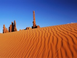 Hoodoos and Dune Photographic Print by Ron Watts