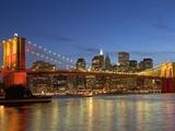 Brooklyn Bridge and East River 写真プリント : アラン・シュエイン