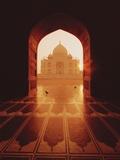 Taj Mahal Reproduction photographique par Bruno Ehrs