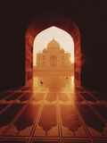 Taj Mahal Photographic Print by Bruno Ehrs