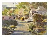 Back Street Giclee Print by LaVere Hutchings
