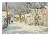 Winter Decor Giclee Print by LaVere Hutchings