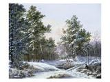 A Fine Winter's Day Giclée-Druck von Pieter Gerardus van Os