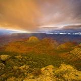 Bright Clouds Over Grand Canyon Stampa fotografica di John Eastcott & Yva Momatiuk