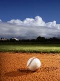 Baseball Fotografie-Druck von Randy Faris
