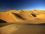 Sand Dunes in Sahara Fotografie-Druck von Kazuyoshi Nomachi