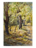 Spring at Dogtown Giclee Print by LaVere Hutchings