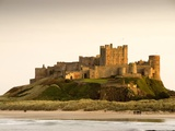 Château de Bamburgh Reproduction photographique par John Woodworth