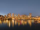 Vancouver skyline Photographic Print by Benjamin Rondel