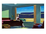 Western Motel Gicléedruk van Edward Hopper