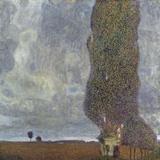 A Gathering Storm (The Grand Aspen II) Fotografie-Druck von Gustav Klimt