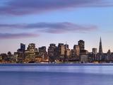 San Francisco skyline seen from Yerba Buena Island Photographic Print by Raimund Koch
