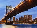 Manhattan Bridge Fotografisk trykk av Rudy Sulgan