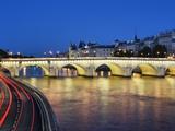 Pont Neuf at twilight Fotografisk trykk av Rudy Sulgan