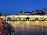 Pont Neuf at twilight Photographic Print by Rudy Sulgan