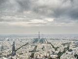 Paris skyline with the Eiffel Tower Photographic Print by Raimund Koch