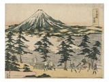 Yoshiwara Giclée-tryk af Utagawa Toyohiro