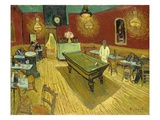 The Night Cafe Giclée-tryk af Vincent van Gogh