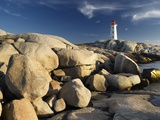 Peggy's Cove Lighthouse Nova Scotia, Canada. Photographic Print by Darwin Wiggett