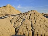 Hoodoos, Badlands, Dinosaur Provincial Park, Alberta, Canada Photographic Print by Michael Wheatley