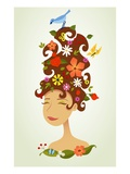 Mother nature Giclee Print by Harry Briggs