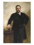 President Theodore Roosevelt Giclée-tryk af John Singer Sargent