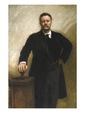President Theodore Roosevelt Giclee Print by John Singer Sargent