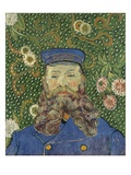 Portrait of the Postman Joseph Roulin Giclee Print by Vincent van Gogh