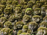 Stone Statues in Otagi Nebutsuji Temple in Kyoto Reproduction photographique par Rudy Sulgan