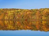 Bear Mountain State Park in autumn Fotografisk trykk av Rudy Sulgan