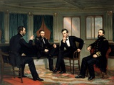 The Peacemakers Giclee-trykk av George P.A. Healy