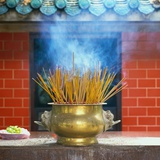 Incense Burning Photographic Print by Reed Kaestner